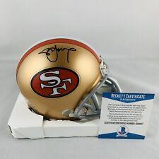 STEVE YOUNG SIGNED SAN FRANCISCO 49ERS MINI HELMET AUTHENTIC BAS COA #S23697
