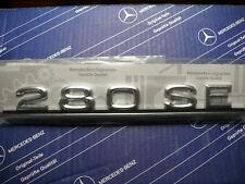Original Mercedes Schriftzug / Typbezeichnung / Typkennzeichen 280SE W116 NEU!