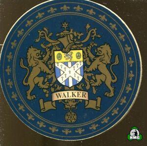 English Heraldic Coaster: Walker