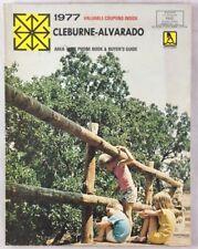 Vintage 1977 Reference Telephone Directory Cleburne Alvarado Texas