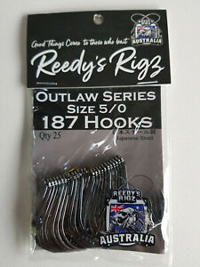 Reedy's Rigs 187 Outlaw Series Hooks