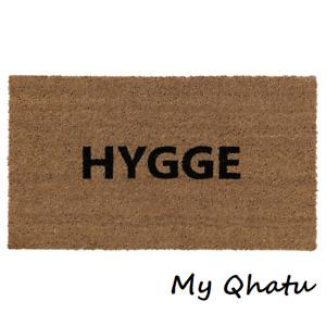 """IKEA Door Mat Indoor Natural, Black """"Hygge """"New Brovst"""