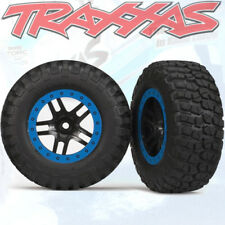 Traxxas Slash Rear Bfg Mud-Terrain Tires On Black/Blue Rims (2)         TRA5883A