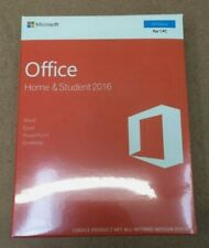 More details for microsoft office home and student 2016 - 79g04597 - original, new and sealed