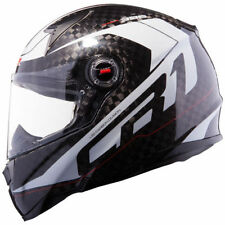 Gloss Carbon Fibre Pinlock Ready Motorcycle Helmets