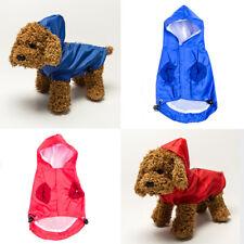 Pet Dog Waterproof Rain Proof Hooded Raincoat Elastic Band Breathable Jacket Use