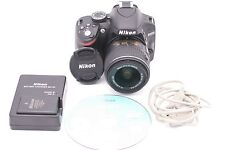 Nikon D D3200 24.2MP Digital SLR Camera - Black (Kit w/ AF-S 18-55mm II VR Lens)