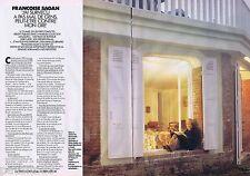 COUPURE DE PRESSE CLIPPING 1993 FRANCOISE SAGAN  (4 pages)