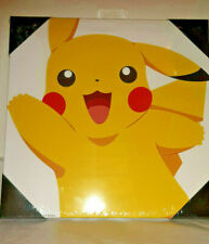 "New! Nintendo Pokemon Pikachu Canvas Wall Art Print 12"" X 12"""