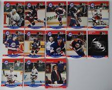 1990-91 Pro Set Series 2 Winnipeg Jets Team Set of 13 Hockey Cards