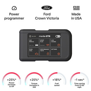 Ford Crown Victoria smart tuning chip power programmer performance tuner OBD2
