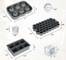 Silicone ice cube maker mold,Silicone Ice cube trays for Bar Whiskey cola cold