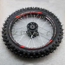 Front 14'' Pit Bike wheel GuangLi 60/100-14 Tyre&32 holes spoke KTM CRF KLX YZF