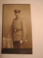 Lübeck - stehender Soldat in Uniform - Portrait / CDV