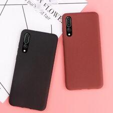 For Huawei P20 Plus Mate 10 Lite Chic Slim Matte Skin Soft TPU Rubber Phone Case