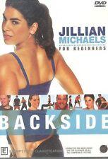 Jillian Michaels Backside DVD NEW workout for backs buns hamstrings biceps