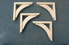 """Wooden Shelf Brackets x 4 (Ideal for 8"""" - 9"""" Shelves)"""