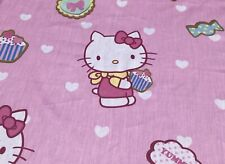 Hello Kitty Cartoon Cotton Fabric. Pink Color.Great Quality. BTY