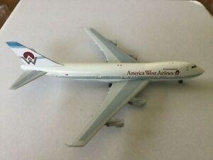 BigBird400  America West  B747-200  N532AW  BB4-2003-50B  1:400 Scale Model