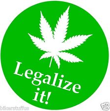 LEGALIZE IT! BUMPER STICKER