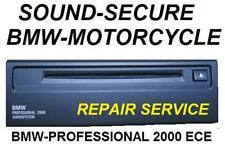 MOTORCYCLE BMW PROFESSIONAL 2000 Audiosystem ECE K1200LT BACKER CD Repair & AUX