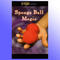 Sponge Ball Magic Close Up Magic Trick Book