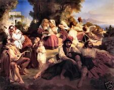 Il dolce far niente by Winterhalter Old Masters Print