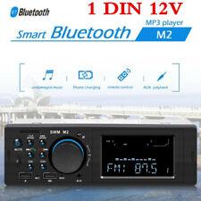 Car Dash Radio Bluetooth Stereo Head Unit MP3/USB/TF/SD/AUX-IN/FM Player 1DIN