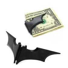 Utility Mens Stainless Steel Batwing Bat Slim ID Cash Money Clip Holder Magnetic
