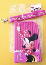 Disney Minnie Mouse Lanyard with Detachable Coin Purse Bright Graphics on Pink
