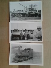 S.D. Warren Railway railroad train postcards Westbrook Maine RPPC