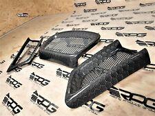 RPG Honeycomb Carbon 3pcs Front Mech Grill for 06 07 Subaru Impreza WRX STi GDF
