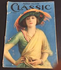 Vtg Motion Picture Classic Oct 1921 Ethel Clayton Ruth Reneck Florence Vidor