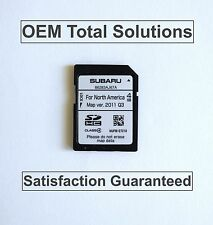 2013-2014 Subaru Outback OEM Harman Navigation OEM SD Card Map #AJ67A US Canada