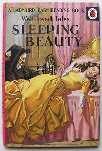 Vintage Ladybird Book – Sleeping Beauty – WLT 606D–Early Edition-Good/Very Good