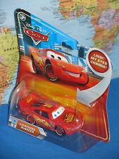 DISNEY PIXAR CARS LIGHTNING McQUEEN #1 LOOK MY EYES CHANGE ***BRAND NEW***