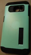 Used KICKSTAND NOT INCLUDED Spigen Slim Armor Mint Case Samsung Galaxy S6 Edge