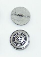 4 botones Trachten metal bastones 17 mm