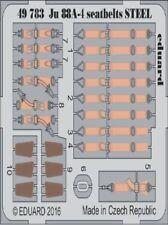 Eduard 1/48 Junkers Ju 88A-4 Seatbelts STEEL # 49783