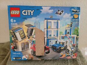 LEGO Police Station City Police (60246). Open Box.