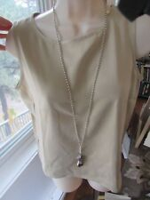 """GURHAN """"Willow"""" Silver with High Karat Gold Accents Cluster Necklace"""