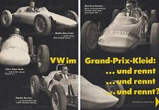 Formula V auto da corsa-Fuchs/Beach RACING CAR-relazione originale di 1965