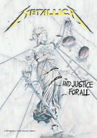METALLICA FLAGGE FAHNE AND JUSTICE FOR ALL POSTERFLAGGE POSTER FLAG STOFF