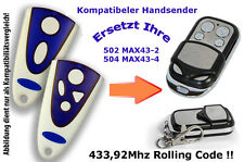 433,92 MHz Remote Control fits to Garage Door Drive novomatic 553S
