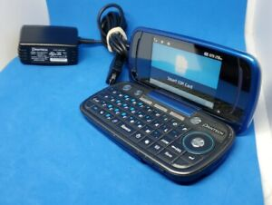Pantech Impact P7000 - Electric Blue AT&T Used - good shape Qwerty Keyboard Flip