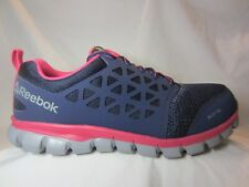 Reebok Sublite Work Alloy Toe Athletic Cushion  Shoes Women's Size 11 RB046