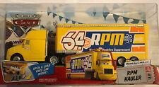 Disney Pixar Cars RPM R P M Hauler Rare World Cars