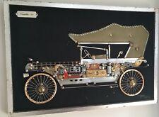 Steampunk Folk Art 1914 Cadillac Mixed Media 3D Presentation - Roman