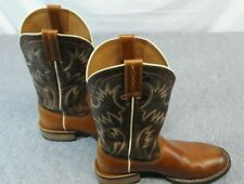 ARIAT Men's Size 9.5 D Round Toe Leather Cowboy Work Boot  10007978