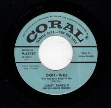 ROCKABILLY-JIMMY CAVELLO/HOUSE ROCKERS-CORAL 61787-OOH-WEE/FOOT STOMPIN'